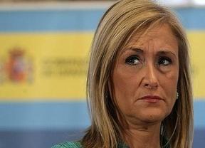 Cristina Cifuentes no se da por enterada de la convocatoria de 'Rodea el Congreso', pero asegura que el 23-O: