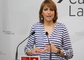 La portavoz del PSOE-CLM sale a la palestra para zanjar dudas sobre el liderazgo de García-Page