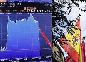 La prima de riesgo, por debajo de los 400 puntos tras el 'perdón' de Moody's