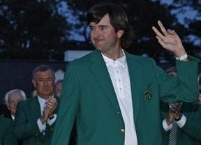 El 'desconocido' Bubba Watson sorprende a os favoritos y se viste de verde en Augusta