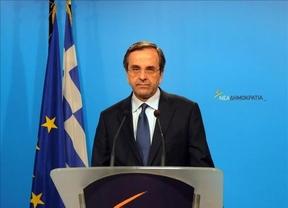 Samarás felicita a Tsipras por su victoria en las urnas