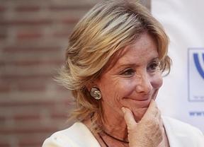Esperanza Aguirre, incluso retirada de la política, se suma a la campaña gallega