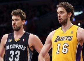 Cara y cruz 'gasoliana' en la NBA: Pau y sus Bulls vencen y Marc cae en casa con sus Grizzlies