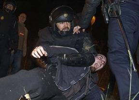 Tenso arranque de la jornada de huelga: unos 58 detenidos y 3 heridos en las primeras horas