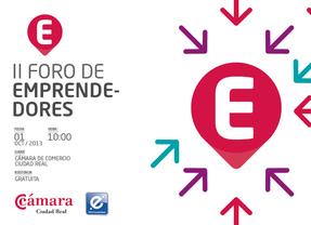 El II Foro de Emprendedores reunirá a más de 150 personas en la Cámara de Ciudad Real