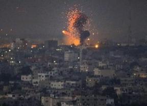 Israel refuerza su ofensiva militar en Gaza y deja ya más de 70 muertos palestinos