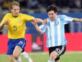Argentina vence a Brasil gracias a un gol de Lionel Messi