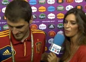 De nuevo, la entrevista con más morbo: Sara Carbonero vs. Iker Casillas (esta vez, sin beso)