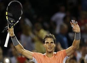 Nadal se pasea ante Hewitt en su debut en Miami (6-1, 6-3)