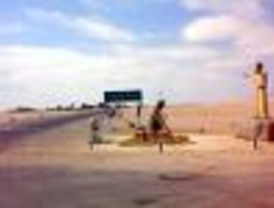 Perú construye una barrera dentro del territorio chileno