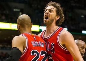 Pau se acerca con 'sus' Bulls al sueño del tercer anillo de campeón: ganan a los Bucks y se meten en semifinales