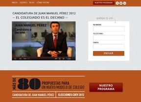 Juan Manuel Pérez acelera su campaña para las elecciones del COEV