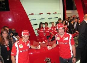 Adiós a los rumores: Massa seguirá siendo la pareja de Alonso en 2013
