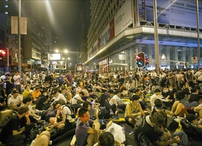 Las protestas de 'Occupy Central' se expanden por Hong Kong