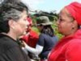 Felicidad total por la liberación de las dos rehenes que tenían las FARC