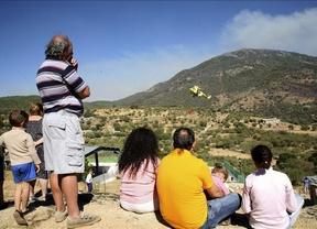 Controlado el incendio en El Real de San Vicente