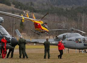 Los informativos y las redes sociales se visten de luto por el accidente de Germanwings