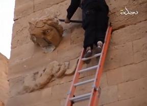 El Estado Islámico difunde un vídeo que muestra la destrucción de la ciudad de Hatra