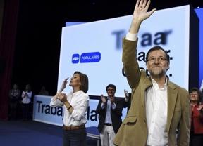 Rajoy, convencido la victoria porque el PP no cambia valores