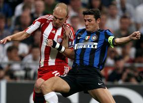 Liga de Campeones. Bayern e Inter, dos grandes en apuros para entrar en cuartos de final