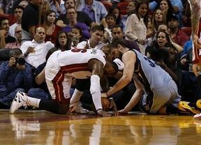 Marc se lesiona en la derrota de los Grizzlies ante Miami