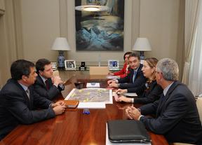 Reunión en la sede del Ministerio de Fomento