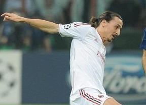 Ibrahimovic la lía: