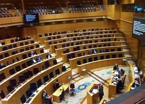Una fotografía del Senado vacío para debatir ayudas para desahuciados indigna a todos
