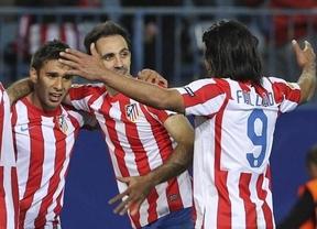 'Matador' Falcao funde al Rayo y da tres puntos de oro a un Atlético ramplón pero eficaz