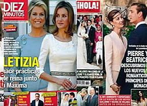 La realeza protagoniza las portadas de las revistas de la semana
