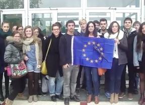 Los estudiantes Erasmus, inquietos sobre el futuro de las becas, se movilizan por toda Europa