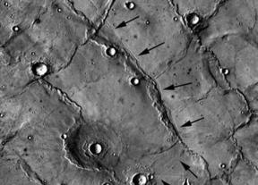 El misterio en las llanuras de Marte