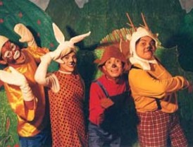 Teatro para niños de entre 2 y 5 años en el Teatro Bernal de El Palmar