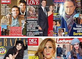 Kiosko de la crónica rosa: los famosos, entre unas tristes y unas alegres Navidades