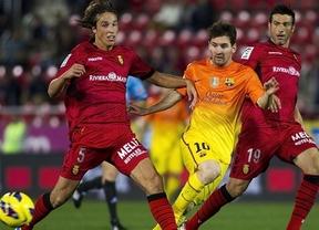 Messi supera otro récord de Pelé y arrastra al Barça a ganar en Mallorca (2-4)