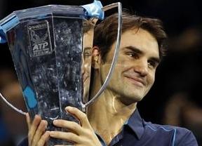 'SuperFederer, como el Ave Fénix: más maestro que nunca tras ganar su sexta Copa Masters