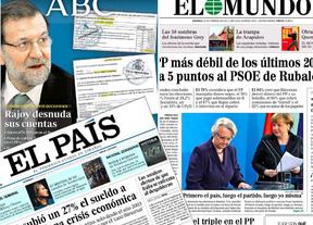 Resumen de prensa: Las cuentas de Rajoy y la reforma laboral, al 'desnudo'