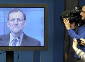 Nueva polémica aparición de Rajoy: no comparecerá ante la prensa, sino sólo por la pantalla