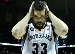 Llega la crisis también a Gasol y 'sus' Grizzlies: ante Cavaliers, segunda derrota consecutiva