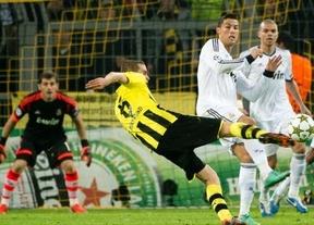 Champions: Madrid-Borussia, duelo con sabor a revancha y el primer puesto del grupo en juego