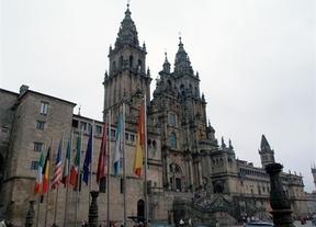 La fachada de la Catedral de Santiago permanecerá tapada por obras durante 18 meses