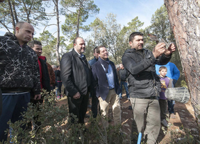 Page asegura que si gobierna habrá medidas para apoyar las zonas forestales de Castilla-La Mancha