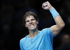 Nadal se venga de Ferrer en la Copa de Maestros (6-3, 6-2)