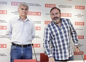 Por primera vez en la historia, los secretarios de UGT y CCOO no estarán en el acto del Día de Castilla-La Mancha