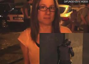 Laura o el polémico vídeo de la chica reducida por la policía en pleno 15-M