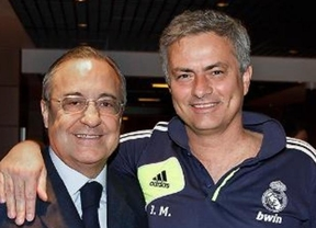 Florentino se deshace en elogios para Ancelotti... pero también a Mourinho: