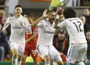 Champions: un huracán blanco acaba, por fin, con la bestia negra del Liverpool (0-3) y se asegura el pase a octavos