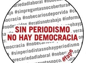 'Sin periodismo no hay democracia': Nuevo lema para el día de la Constitución