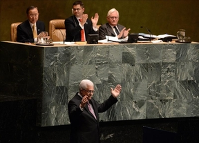 Una abrumadora mayoría aprueba a Palestina como estado observador en las Naciones Unidas
