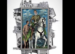 Señalización especial en Toledo para indicar al visitante los lugares de interés en torno a El Greco